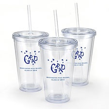 Clear Personalized Tumbler