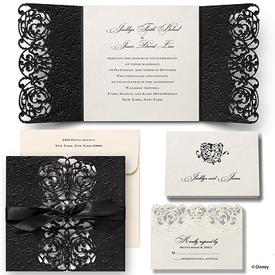 Inner Beauty Wedding Invitation - Belle