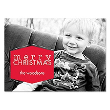 Little Merry Photo Holiday Card