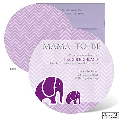 home baby kids shower invitations baby elephant baby shower