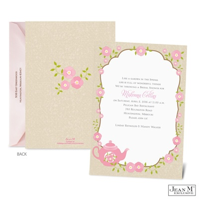 ... · Occasions · Bridal Shower · Bridal Tea Bridal Shower Invitation