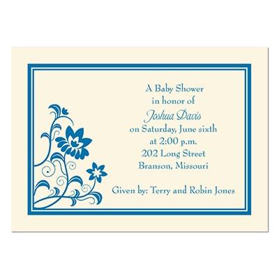 baby kids shower invitations modern flowers petite baby shower