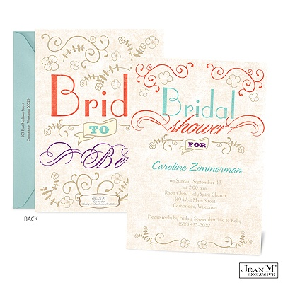 · Wedding · Shower & Party Invitations · Vintage Promises Bridal ...