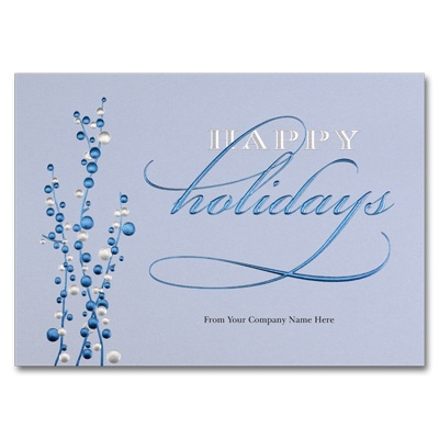 Cheerful Blues Card