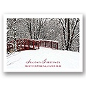 Christmas Bridge Card