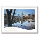 Minneapolis Winter Reflections Card