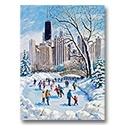 Wintertime in the City Card