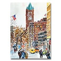 Minneapolis Old Courthouse Clock Card
