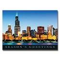 Chicago Sklyline at Dusk Card