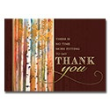 Autumn Birchwoods Card