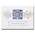 Snowflake Trio Card