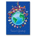 Peace Around the World Card