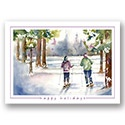 Winter Trail Card