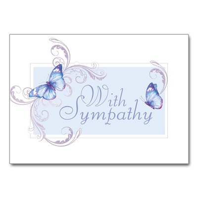 Tranquil Butterflies Card
