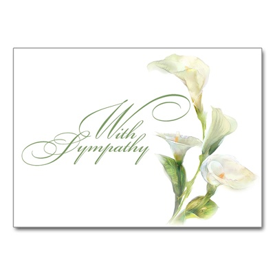 Graceful Lilies Card
