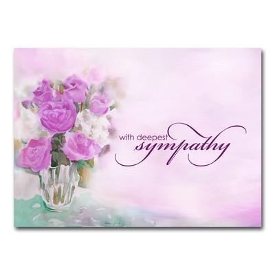 Watercolor Bouquet Card