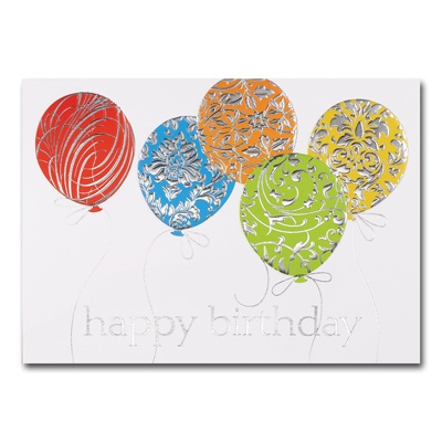Silver Patterns Card