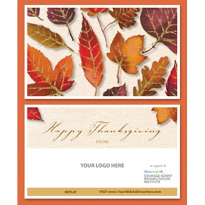 Thanksgiving Leaves E-Card