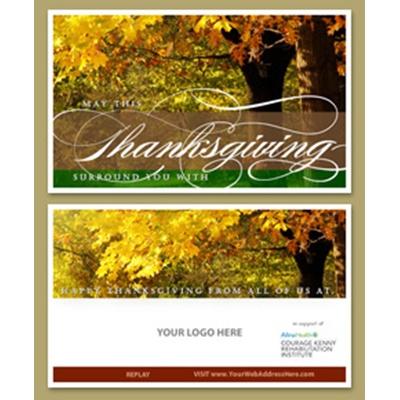 Thanksgiving Joy E-Card